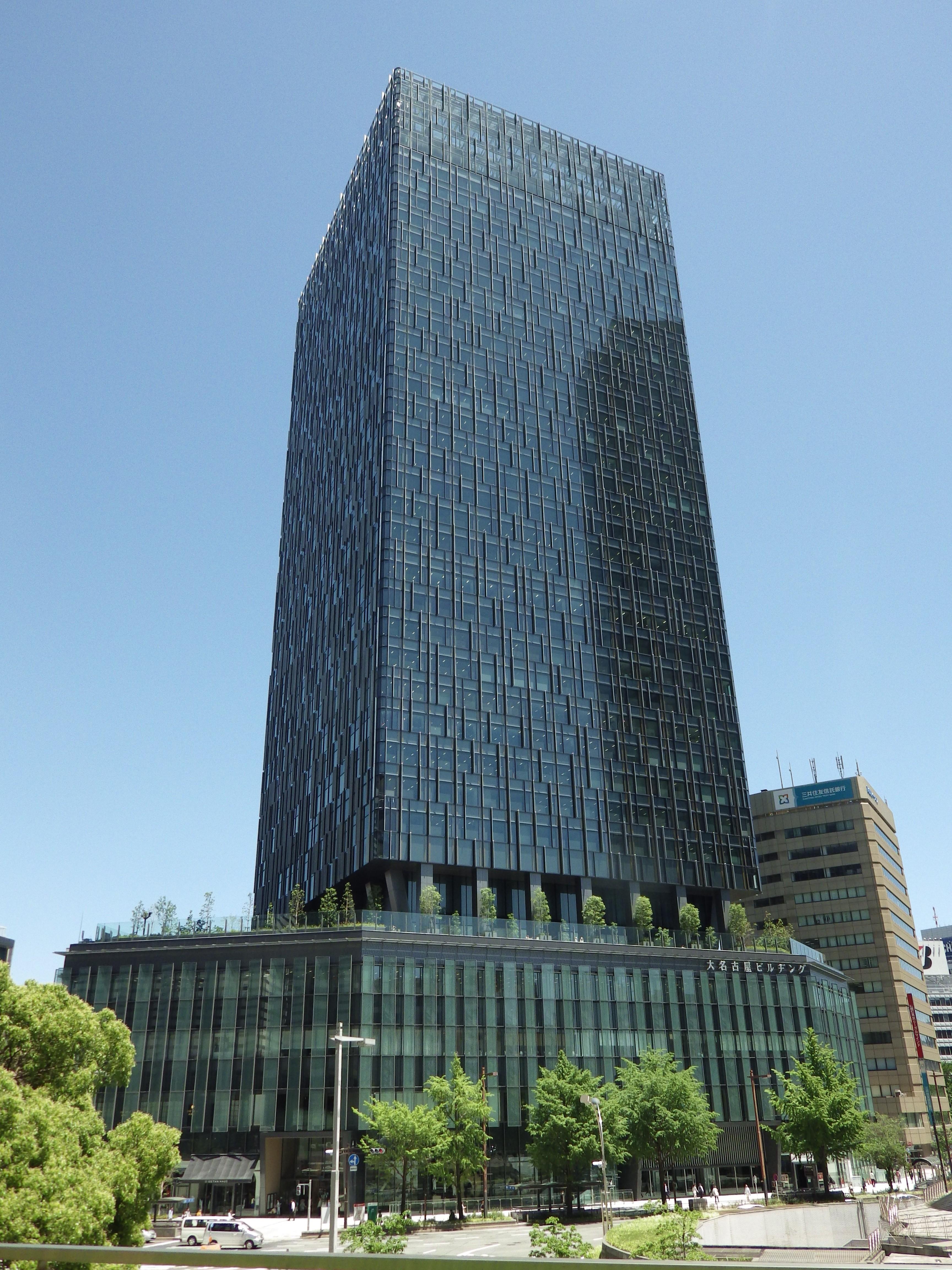 名駅三丁目27番地区開発計画のうち建築工事(大名古屋ビルヂング)